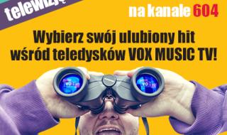 Konkurs VOX MUSIC TV w telewizji VECTRA!