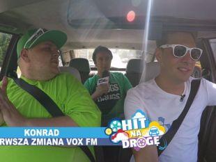 """Hit na drogę to nie jest piosenka która powoduje """"cieżką nogę"""" - wręcz przeciwnie! (Hit na Drogę: Michał Zarzycki/VOXFM, VOXFM, odc. 2)"""